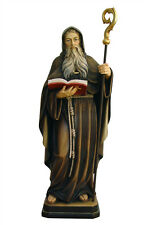 Saint Benedict statue wood carved