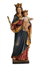Mary help of christians statue wood carving