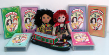 ROSIE AND JIM RARE COLLECTABLES: RAGDOLL CANAL BOAT, PLUSH TOYS & VHS / VIDEOS