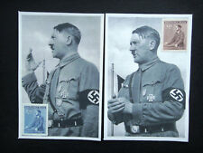 Germany Nazi 1933 1942 ? Stamps MINT Third Reich German Swastika B&M Hitler