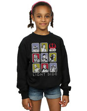 Star Wars Fille The Last Jedi Multi Character Sweat-Shirt