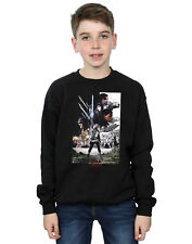Star Wars Garçon The Last Jedi Character Poster Sweat-Shirt