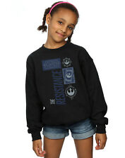 Star Wars Fille The Last Jedi The Resistance Sweat-Shirt