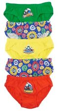 Thomas And Friends Briefs Pants Slips Underwear FIVE PACK 2-3 To 5-6 Years