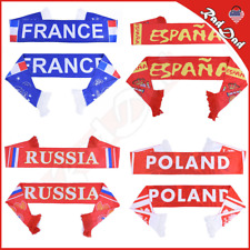 World soccer Cup Russia football Scarf World National Team Scarf 32 Teams Flag: