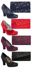 Ruby Shoo Charlotte High Heel Court Shoes & Matching Oxford Bag UK3-9 36-42