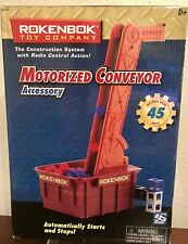 Rokenbok Toy Company Motorized Conveyor 04731 Auto Start Stop 45 Pieces Included