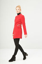 bd81109 FONTANA 2.0 CAPPOTTO ROSSO DONNA WOMEN'S RED COAT
