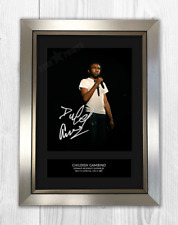 Childish Gambino Donald Glover Signed Print Mounted Quality A4 Reproduction