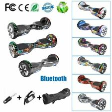 "Bluetooth Hoverboard 6.5"" LED Scooter Eléctrico Patinete Monociclo Mando + Bolso"