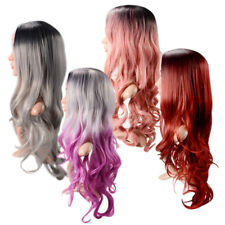 Ladies 70cm Full Curly Wigs Fashion Cosplay Costume Anime Party Long Wavy Hair