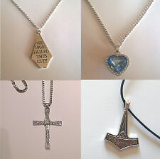 collana film inspired - arrow - titanic - croce Fast Toretto Vin Diesel - Thor