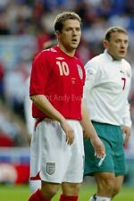Michael Owen playing for England football action photograph picture poster print