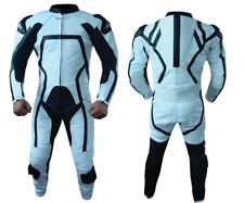 Genuine Motorbike  Leather Suit Cowhide Racing Suit CE approve Armour