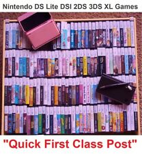 Nintendo DS Games - Boxed + Instructions - DS Lite DSi 2DS 3DS XL ONLY £3.99