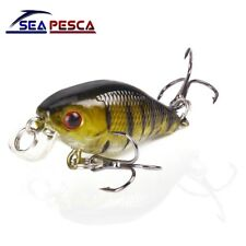 SEAPESCA Minnow Fishing Lure 4cm 4.2g Crank Hard Bait artificial Wobblers Bass