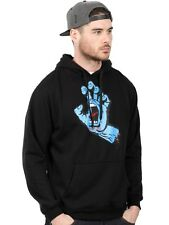 Santa Cruz Black Screaming Hand Hoody