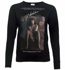 Official Women's Flashdance Movie Poster Black Lightweight Sweater : 80s Movies