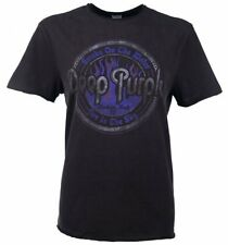Official Charcoal Deep Purple Smoke On The Water T-Shirt from Amplified