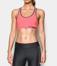 Under Armour Womens Low-Impact Sports Bra 1273504 In Coral