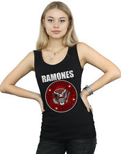 Ramones Donna Red Fill Seal Canotta