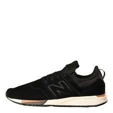New Mens New Balance  247 Luxe Trainers - Black Suede