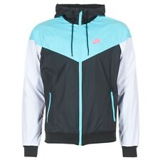 giacca a vento uomo Nike  WINDRUNNER  Blu   6847779