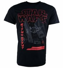 Official Men's Black Star Wars Tie Fighter T-Shirt : 70s Movies