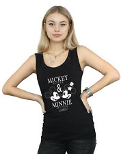 Disney Mujer Mickey and Minnie Mouse Mousecrush Mondays Camiseta Sin Mangas