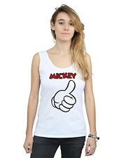 Disney Mujer Mickey Mouse Thumbs Up Camiseta Sin Mangas