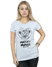 Disney Mujer Mickey and Minnie Mouse Since 1928 Camiseta