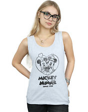 Disney Mujer Mickey and Minnie Mouse Since 1928 Camiseta Sin Mangas