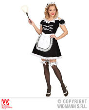 Ladies Deluxe French Maid Costume France Frenchmen Fancy Dress Cosplay