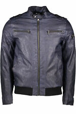 giubbotto uomo guess jeans guess jeans uomo giubbotto in ecopelle mani…