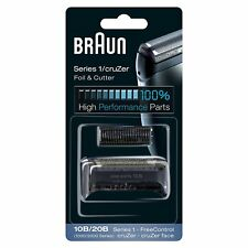 Braun Electric Shaver Replacement Foil and Cutter 10B/20B Series 1 CruZer New