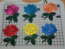 Rose Flower (Iron On) Embroidery Applique Patch Sew Iron Badge(6 - Colours)
