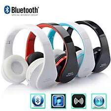 Auriculares Stereo Bluetooth Wireless plegable auricular microfono para Phone OE