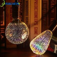 OSIDEN E27 3D LED Light Edison Bulb Decoration Lamp 85-265V Holiday Lights A60