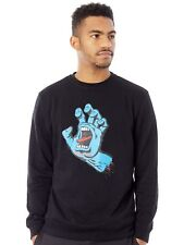 Santa Cruz Black Screaming Hand Sweater