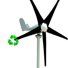 400W WIND TURBINE GENERATOR AC 12V 24V 5 BLADE WITH WINDMILL CHARGE CONTROLLER