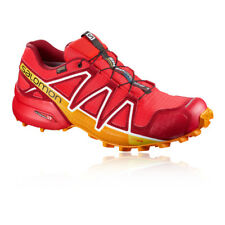 Salomon Mens SPEEDCROSS 4 GORE-TEX Trail Running Shoes Trainers Sneakers Red