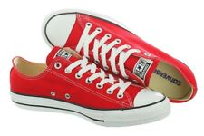 SCARPE CONVERSE ALL STAR RED ROSSE BASSE TELA M9696C NUOVE ORIGINALI
