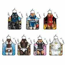 Funny Kitchen Aprons Cooking Kitchen BBQ Apron Novelty Gifts for Men & Women ZP