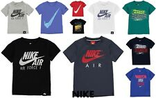 New Nike 2018 Infant Boys Nike T Shirt Swoosh -Top Size Age 2-7 JUST DO IT SALE