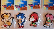Sonic the Hedgehog Official Keyrings Keychain Sonic Tails Knuckles Amy