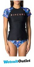 2018 Rip Curl Tropic Tribe Relaxed Short Sleeve Rash Vest Navy WLY7RW