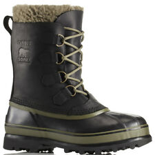 Mens Sorel Caribou Wool Winter Snow Rain Waterproof Hiking Mid Calf Boot UK 7-12