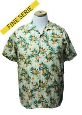 MAXFORT SHIRT MAN SHORT SLEEVE PLUS SIZE ALESSANO YELLOW