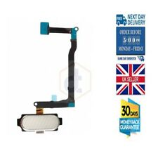 Home button Flex UK Replacement in Black/White - Samsung Galaxy Note 4 N910F