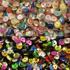 Cup Sequins 7mm Sewing Knitting Polystyrene Pin Decoration 5g Pack